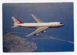 CP , TRANSPORTS ,  BOEING 747 , Quadriréacteur De 374 Places - Avions