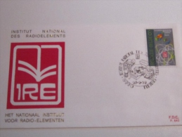 F.D.C PREMIER JOUR  1982   INSTITUT NATIONAL DES RADIOELEMENTS  BELGIQUE BELGIE - 1981-90