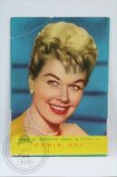 Vintage 1961 Small Calendar - Cinema/ Actors Topic: Actress: Doris Day - Calendarios