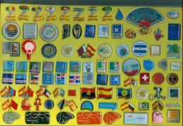 PIN EXPO 2008 ZARAGOZA  ESPAÑA COLECCION DE 193 PINS - Pin