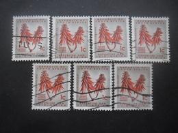 AFRIQUE DU SUD N°283 X 7 Oblitéré - Afrique Du Sud (1961-...)