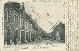 Aubel - Rue De La Station - 1902 ( Voir Verso ) - Aubel