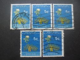 AFRIQUE DU SUD N°286A X 5 Oblitéré - Afrique Du Sud (1961-...)