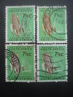 AFRIQUE DU SUD N°286D X 4 Oblitéré - Afrique Du Sud (1961-...)