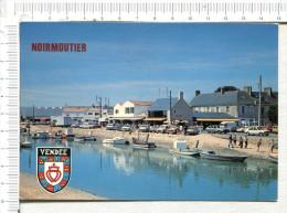"""NOIRMOUTIER En L ILE  -   Sur Le Port, Restaurant   """"  L ILE D HER """"  -  Véhicules - Noirmoutier"""