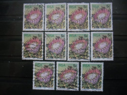 AFRIQUE DU SUD N°420 X 11 Oblitéré - Afrique Du Sud (1961-...)