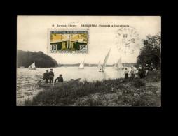 44 - CARQUEFOU - Plaine De La Couronnerie - Bords De L´Edre - 14 - Pêche à La Ligne - Carquefou