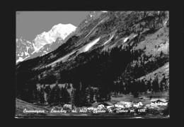 Courmayeur - Lavachey - Sfondo Monte Bianco - Italia