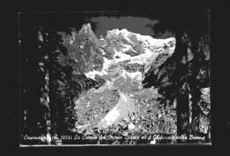 Courmayeur -x- La Catena Del Monte Bianco Ed Il Ghiacciaio Della Brenva - Italia
