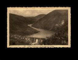 12 - PINET - Le Barrage Et Le Village - 355 - Autres Communes