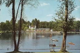 5932- SCHWALMTAL- LAKE, BATHS, BOATS, POSTCARD - Schwalmtal