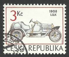 Czech Republic, 3 K. 1994, Sc # 2933, Mi # 54, Used - Repubblica Ceca