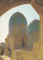 6166- SAMARKAND- SHAH I ZINDA NECROPOLIS, MAUSOLEUMS, POSTCARD - Uzbekistan