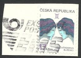 Czech Republic, 17 K. 2002, Sc # 3073, Mi # 329, Used - Czech Republic