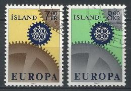 DD--514-. EUROPA 67 - N° 364/65,  OBL. , Cote 3.50 €,  Liquidation - 1944-... Republik