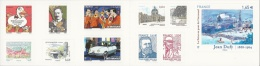 """France, Nice Stamps At The """"Salon D""""Automne"""", 2014 MNH VF, Booklet Of 10, Self Adhesive - Commemoratives"""