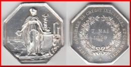 **** JETON SOCIETE GENERALE DE CREDIT INDUSTRIEL ET COMMERCIAL 7 MAI 1859 - ARGENT - SILVER **** EN ACHAT IMMEDIAT - Professionnels / De Société