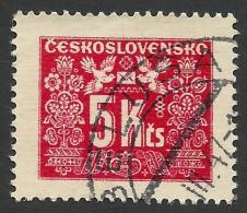 Czechoslovakia, 5 K. 1946, Sc # J80, Mi # 77, Used - Postage Due