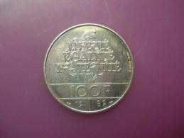 FRANCE - 100 FRANCS - 1989 - SILVER ARGENT PLATA - N. 100 Franchi