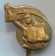 MATICA SLOVENSKA 1963 - Martin, Slovakia, Vintage Pin, Badge - Administrations