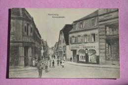 HOMBURG (Allemagne) Bahnhofstrasse - Central Drogerie - 1919 - Autres