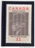 CANADA, 1984, # 1044,  TREFFLE BERTHIAUME                        MNH - 1952-.... Reign Of Elizabeth II