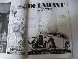 20 Octobre 1928 : Belles Pubs AUTOMOBILES ; Rare Pub De FOUJITA ; Disparition De L´ONDINE ; MONET ;  Abbaye De LERINS - Newspapers