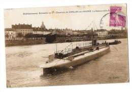 (1081-71) Etablissement Schneider Et Cie - Chantiers De Chalon Sur Saone - Le Submersible - Unclassified