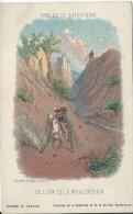 Grande Image /Fables De La Fontaine/ Le Lion Et Le Moucheron/ Collection De La Kolarsine Et Pautauberge/Vers1900   IM757 - Autres