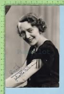 """Nicolet Canada Photo 15 X 10 Cm ( Autographe De Juliette Beliveau"""" Probablement Vers1930 - Non Classés"""
