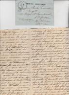 LETTRE BRON -RHONE AVEC CORRESPONDANCE -CAD DU 16-8-1914- +LINEAIRE TROUPES MOBILISEES . - Marcophilie (Lettres)