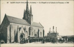 29 SAINT JEAN TROLIMON / La Chapelle Et Le Calvaire De Tronon / - Saint-Jean-Trolimon
