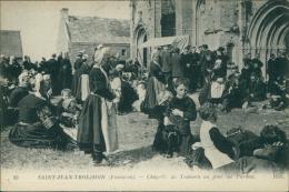 29 SAINT JEAN TROLIMON / La Chapelle De Tronoen Un Jour De Pardon / - Saint-Jean-Trolimon