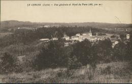 42 LE CERGNE / Vue Générale Et Mont Du Para / - Autres Communes