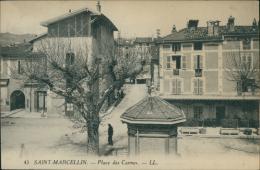38 SAINT MARCELLIN / Place Des Carmes / - Saint-Marcellin