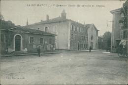 38 SAINT MARCELLIN / Ecole Maternelle Et Hôpital / - Saint-Marcellin