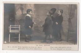 CPA Fantaisie - Enfant - Un Duel Précoce - Enfants