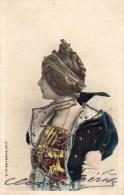 Cléo  De MERODE - Trés Belle Carte -  Danseuse De La Belle époque  -  Bon état, Voir Scans . - Artistes