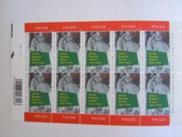 België Belgique Belgium 2003 Solvay Business School Feuillet PLANCHE 2 3161 Yv 3154 MNH ** - Feuillets