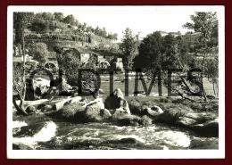 PORTUGAL - UM ASPECTO DE AZENHAS NUM RIO - 1950 REAL PHOTO - Photographs