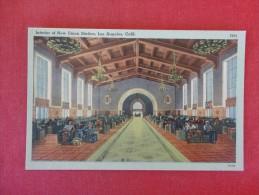 California> Los Angeles  Interior Union Train Station  Ref 1582 - Los Angeles