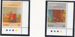 1993 EUROPA CONTEMPORAY ART SG 876/77 MNH - Nuovi