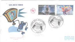 PARIS  Les Héros De Jeux Vidéo   Lara Croft   Spyro  11/11/05 - Other