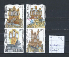 België 2000 - YT 2924/27 Gest./obl./used - Used Stamps