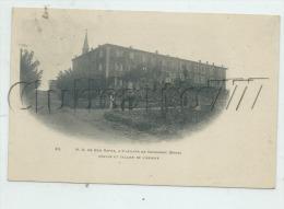 Saint-Julien-de-Cassagnas  (30) : L'abbaye De ND De Bon Repos + Grange Et Cellier En 1905 (animé)  PF . - Autres Communes
