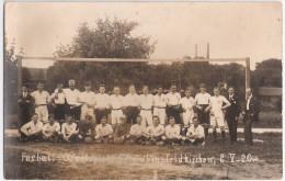 Fußball Match Markt Schwaben Gegen Feldkirchen Bei München 2.5.1920 Private Fotokarte Ungelaufen - München