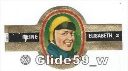 Bague De Cigare REINE ELISABETH - Serie Allied Air-Force - N° 8 - Raymond Collishaw - England - 1914-1918 - Cigar Bands