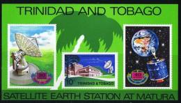 Station Terrestre De Matura  Bloc Feuillet ** - Trinité & Tobago (1962-...)