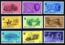 1976  Bicentenaire Des USA Série Complète ** - Seychelles (1976-...)