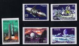 1970  Apollo !!  Alunissage Sc 252-6 ** - Seychelles (1976-...)